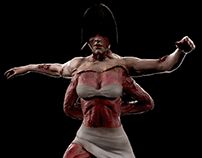 Fukuro Girl (Silent Hill) Sculpture