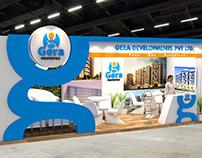 Gera Properties Exhibition Design for Property show UAE