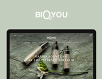 Biological cosmetics online shop