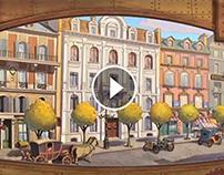 Jules Verne - Behind the scenes