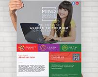 online tutor flyer