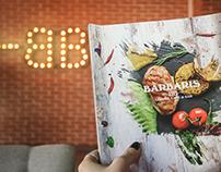 Restaurant menu | Lounge Bar BARBARIS