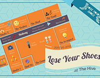 Lose Your Shoes Promotional Poster and Map