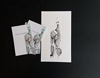Cartões de visita Cesar Alonso