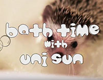 Bath Time with Uni the Hedgehog