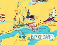 Bay of Quinte Tourism Maps