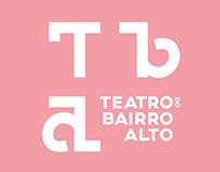 Teatro Bairro Alto Identity Proposal