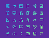 Your basic needs - Stroke Icons