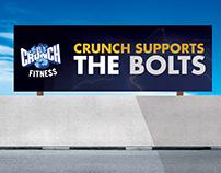 Crunch Fitness Billboards