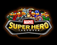 Marvel Super Hero Takeover - Club Penguin