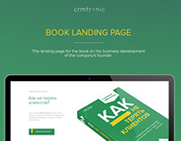 Landing Page for book