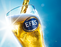 EFES pouring