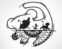 Hakuna Matata tattoo design