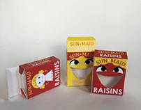SunMaid Raisin Repackaging Box