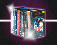 GALAXY FILMS  (VHS Collection)