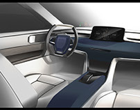Land Rover 2030 Concept interior