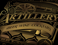 Artillery Bar - Savannah | Typography