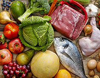 Healthy food collection for Paleo Diet