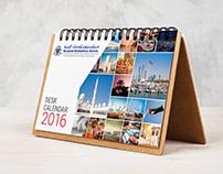 """Millennium UAE """" Desk Calendar 2016 """""""