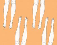 legs pattern