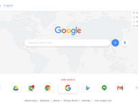 Google Redesign - just a try!