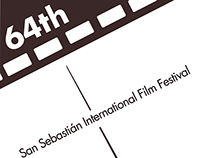 64th San Sebastián International Film Festival Posters