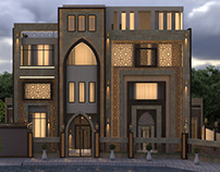 neo islamic villa in UAE