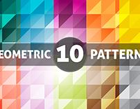 10 Triangle Geometric Patterns