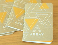 Array Architects | Promotional Sketchbooks