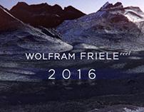Wolfram Friele Showreel 2016