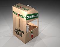 Chai point chai booth concept