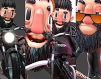 Triumph 3d Character Design