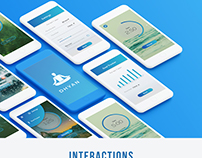 UI design | Dhyan - App for Mediation