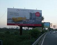 Store launch OOH campaign - Livspace