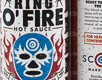 Ring O' Fire Hot Sauce Promotion