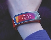 Samsung Galaxy Gear - Product Photography