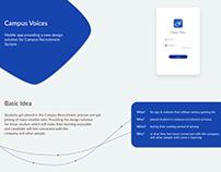 Campus Voices (Campus Recruitment Process)