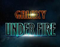 Galaxy Under Fire Menu Update UI Design