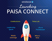 Launching Paisa Connect