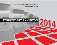 Student Art Exhibition Poster