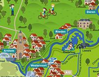 Waterschap Rijn en IJssel plattegrond