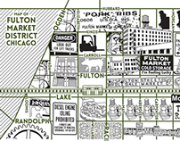 Fulton Market District Map
