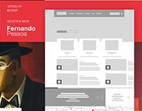 Site Casa Fernando Pessoa