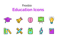 Freebie Education Icons