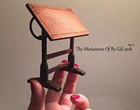 Bookcase  Room. miniature
