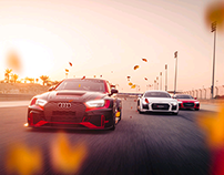 Audi RS3 LMS & Audi R8 Driving Experience - Bahrain