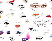 Designer Beauty Looks/Make-up 2017