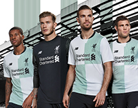 NB Football - Liverpool FC 17/18 Away Kit Launch