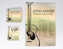 John Mayer Music Campaign Project