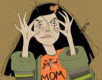 Contemporary mom
